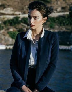 Жакет синий